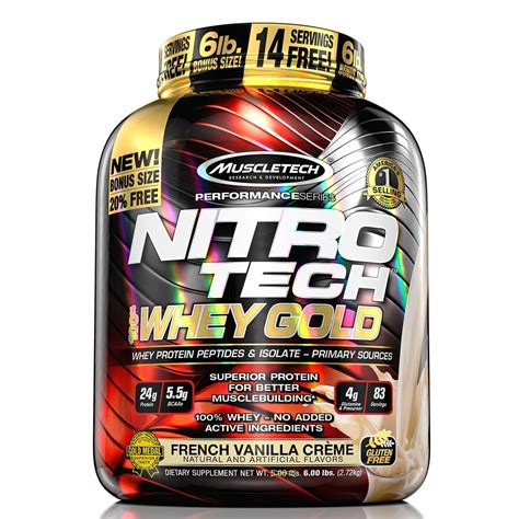 Whey Gold Standard 5 Lbs Optimum Nutrition Nitrotech Gold On Wgs nitro tech 100 whey gold cusprotein
