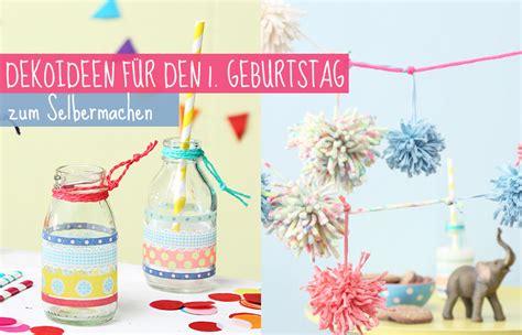 Deko Ideen 18 Geburtstag by Deko Zum 1 Geburtstag Selbermachen Tambini