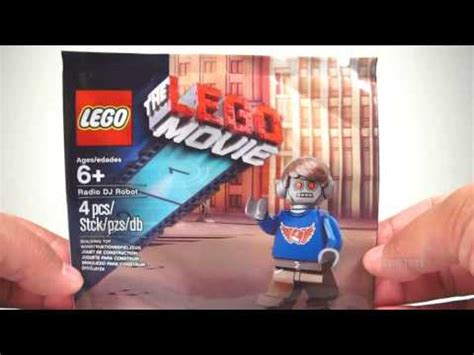 Lego 5002203 1 Radio Dj Robot Polybag lego limited edition the lego radio dj robot minifigure review