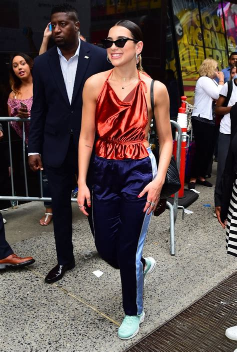 dua lipa wardrobe dua lipa style popsugar fashion uk