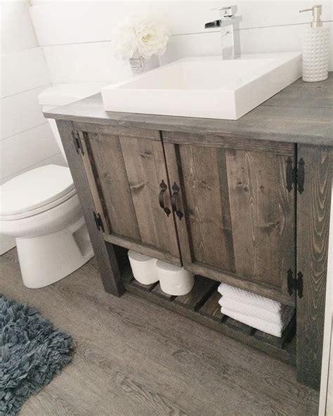 farmhouse sink vanity best 25 vessel sink vanity ideas on timber