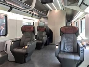 review trenitalia executive class frecciarossa rome to