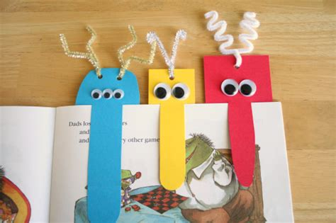 Easy Handmade Bookmarks - 5 kid friendly father s day projects babycenter