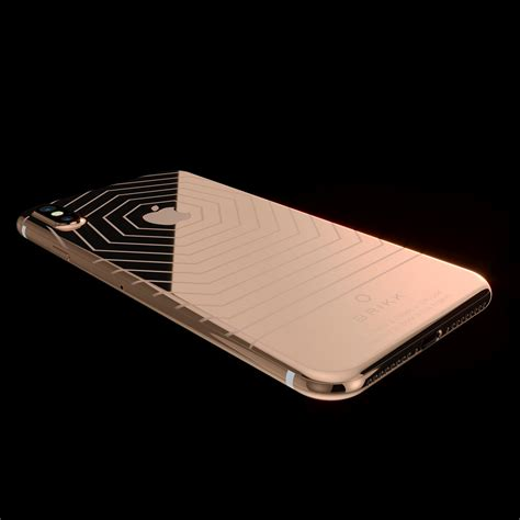 lux iphone  classic  rose gold
