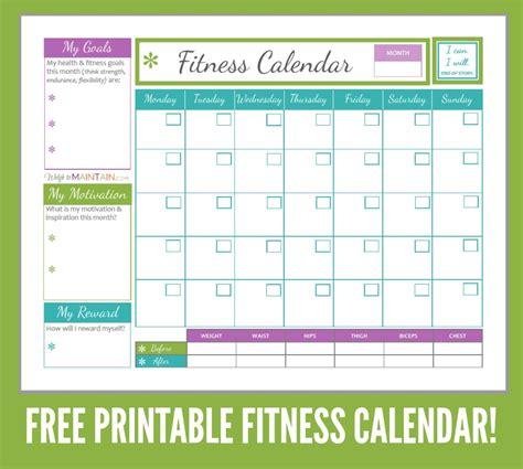 images exercise calendar template leseriailcom