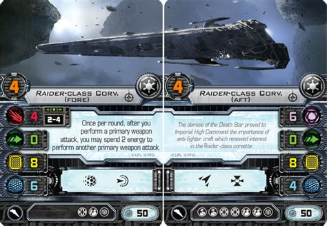 Wars Ffg Ship Card Template by Revealed X Wing Imperial Details Spikey Bits