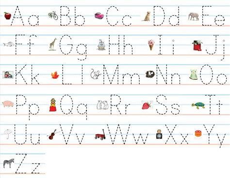 The Trace trace the letters for beginner kiddo shelter