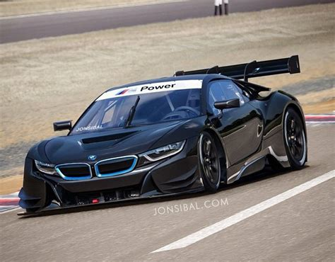 bmw race cars rendering bmw i8 racing car