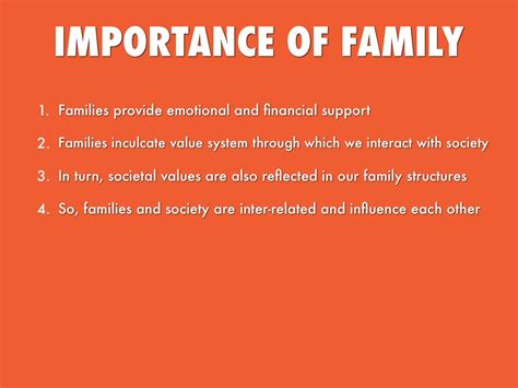 The Importance Of As A Family by Importance Of Family