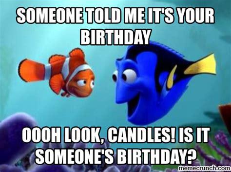 Disney Birthday Meme - dory birthday