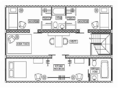 Container Architecture Floor Plans | shipping container architecture plans container house design