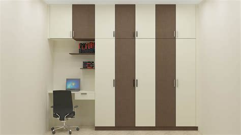 bedroom wardrobe colors wardrobe with study unit and loft adds a great look to