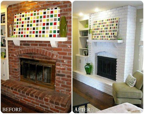 Interior Paint Ideas Brick 1000 Ideas About Brick Fireplace Makeover On