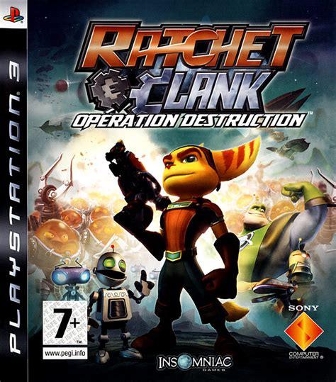 ratchet clank operation destruction sur playstation