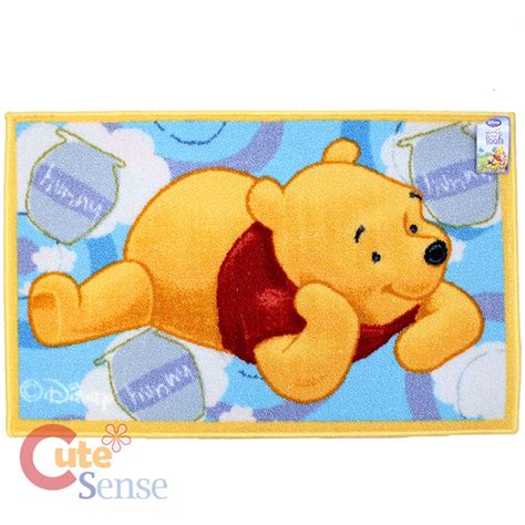 pooh rug winnie the pooh and friends accent rug carpet 30 quot x 20 quot floor mat think pooh ebay
