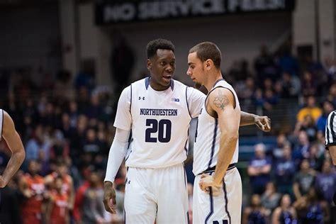 bench scoring men s basketball northwestern struggles with buckeye press in second half collapse
