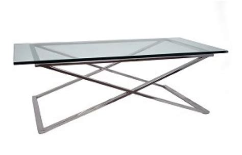 Stainless Steel Coffee Table Legs Glass Top Coffee Table With Stainless Steel Legs