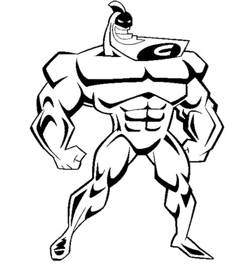 coloring page the fairly oddparents crimson chin 11