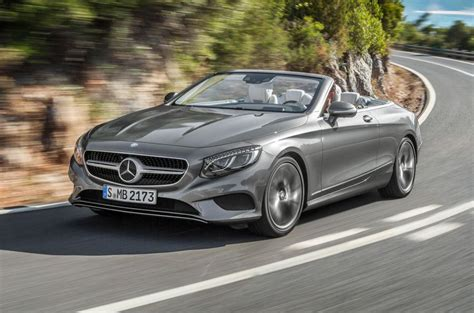 mercedes s class convertible 2016 mercedes s class cabriolet pricing revealed