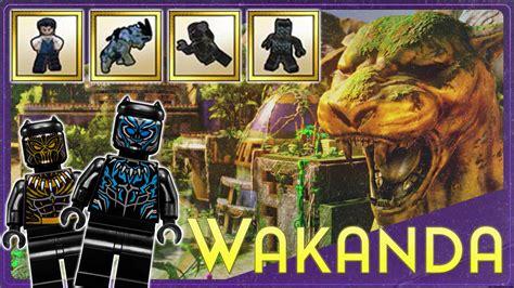 lego 174 marvel super heroes 2 black panther dlc trailer lego marvel 2 black panther level dlc pack revealed