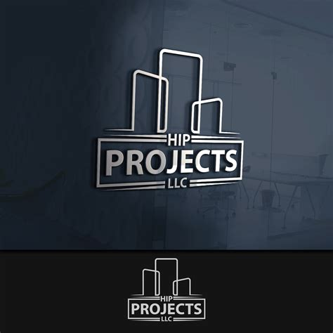 creative construction and design modern upmarket logo design for hip projects by