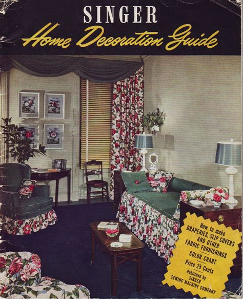 home decor sales magazines sale vintage 40s home decor magazine singer home by