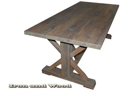 tafel köln kloostertafel kasteeltafel oude eiken wagondelen