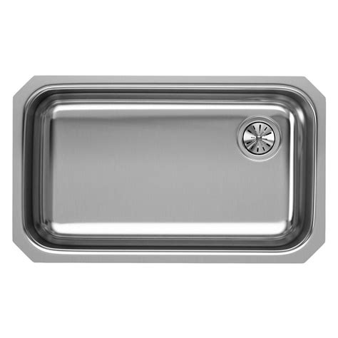 stainless steel single bowl undermount kitchen sink elkay crosstown undermount stainless steel 44 in single