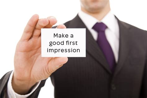 7 Ways To Make A Impression At An by Seven Seconds To Make A Impression Ace Impression