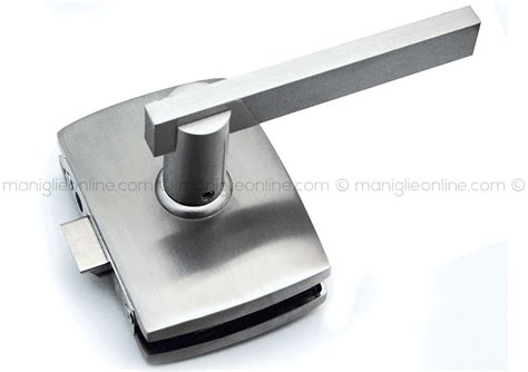serratura per porta serratura per porta in vetro temperato comit glass serie