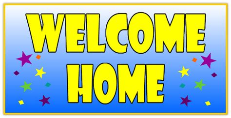 welcome home banner 109 welcome home banner templates