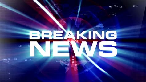 breaking news background breaking news background stock footage