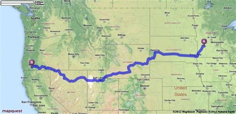 mapquest oregon il driving directions from sacred minnesota to medford
