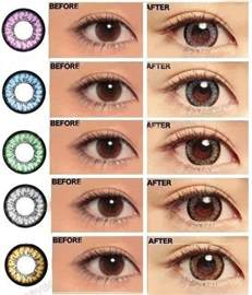 colored contact lenses prescription plano contact lenses