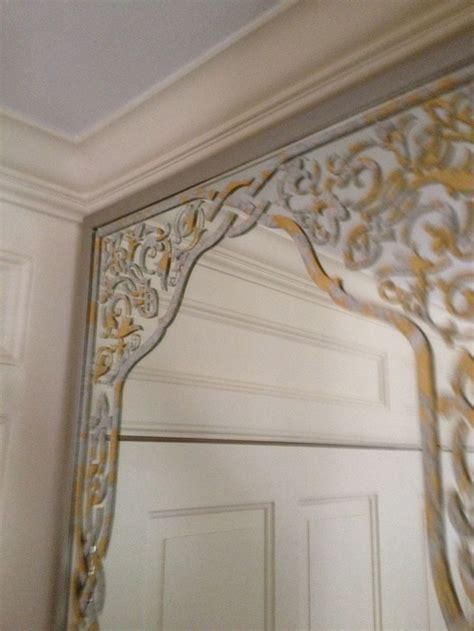 gold mirror pattern 17 images about stenciling on mirror on pinterest