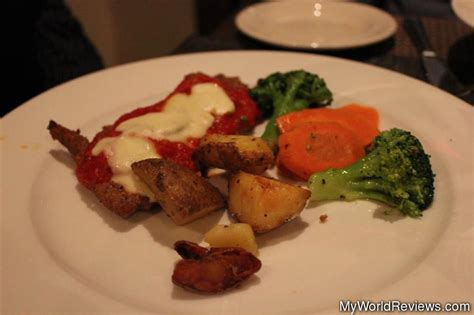 spicy veal parmesan review of mondello at myworldreviews com