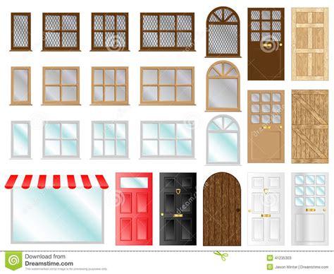 imagenes libres de ventanas puertas y ventanas ilustraci 243 n del vector imagen 41235303