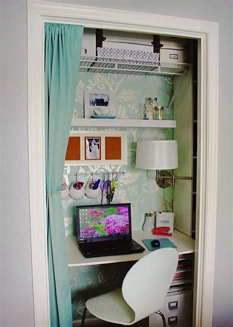 tiny house closet from little closet to tiny office tiny house pins