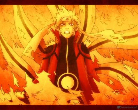 uc themes naruto naruto kurama mode wallpaper