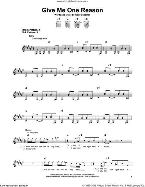 Tracy Chapman Guitar Chords