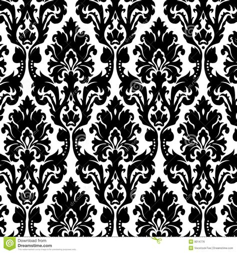 black and white seamless vintage wallpaper royalty free vintage wallpaper stock illustration illustration of