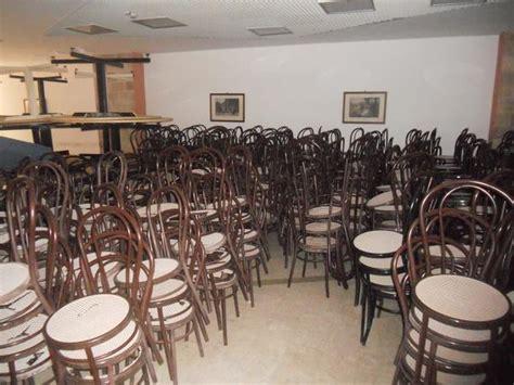 sedie usate ristorante lotto sedie e tavoli per ristorante