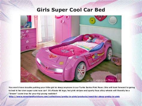 car beds for girls girls super cool car bed buy it at neverland furniture in canada