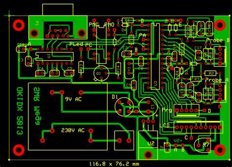 pcb layout software gnu swr mega