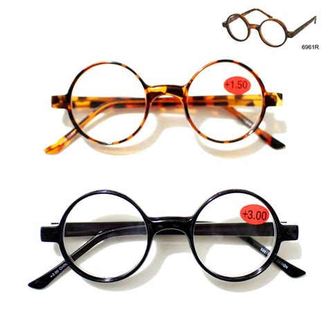retro style plastic medium reading glasses shell