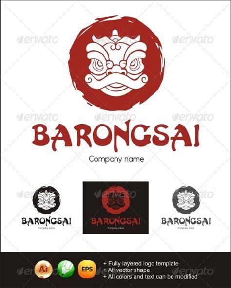 tattoo barongsai barongsai logo graphicriver