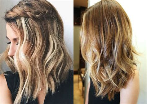 medium haircuts and color 2017 casual mid length hairstyles 2017 hairdrome