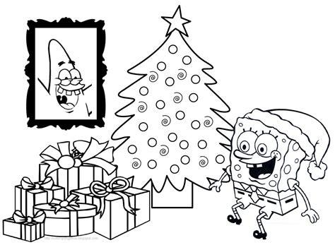 dibujos para tarjetas de navidad para ni241os dibujos para colorear de bob esponja en navidad dibujos para cortar y colorear