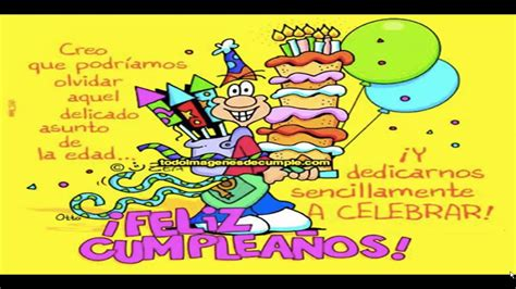 fotos graciosas de cumpleaños gratis saludos graciosos de cumplea 209 os 1 youtube