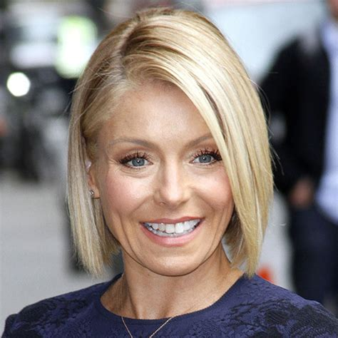 is kelly ripas bob all one length what to do when you re sick of your lob